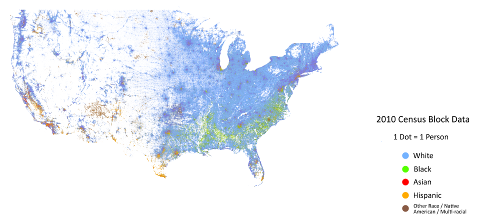 Black Belt The Science Of The South - Mapping the 2010 us census