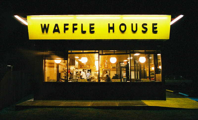 Food The Science Of The South Page - Density map of waffle house in us