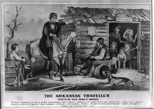 Currier-ives-arkansas-traveller