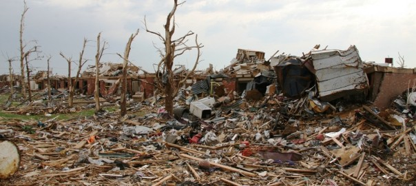 Joplin, Mo., June 4 - Tornado Hurls Large Objects –